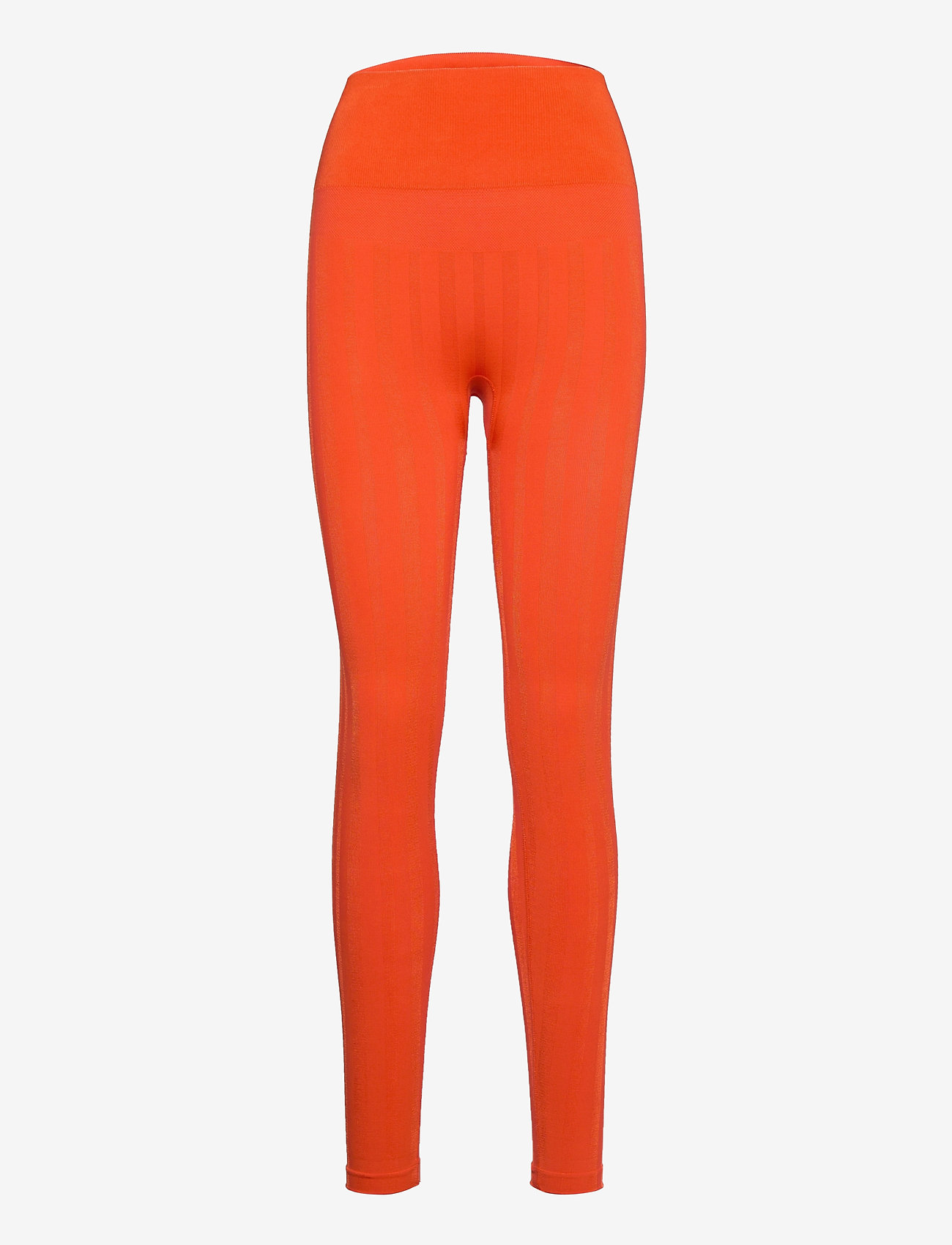 Casall - Shiny Matte Seamless Tights - running & training tights - intense orange - 0