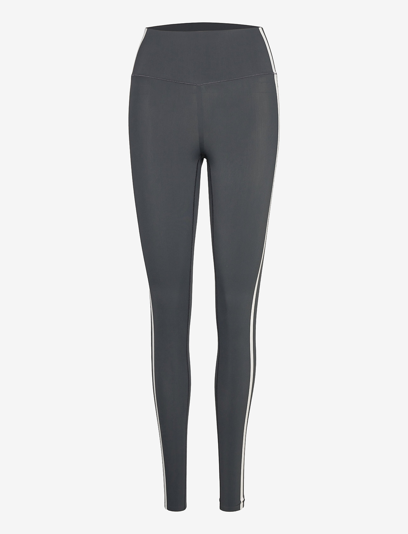 Casall - Contrast High Waist Tights - running & training tights - clean grey - 0