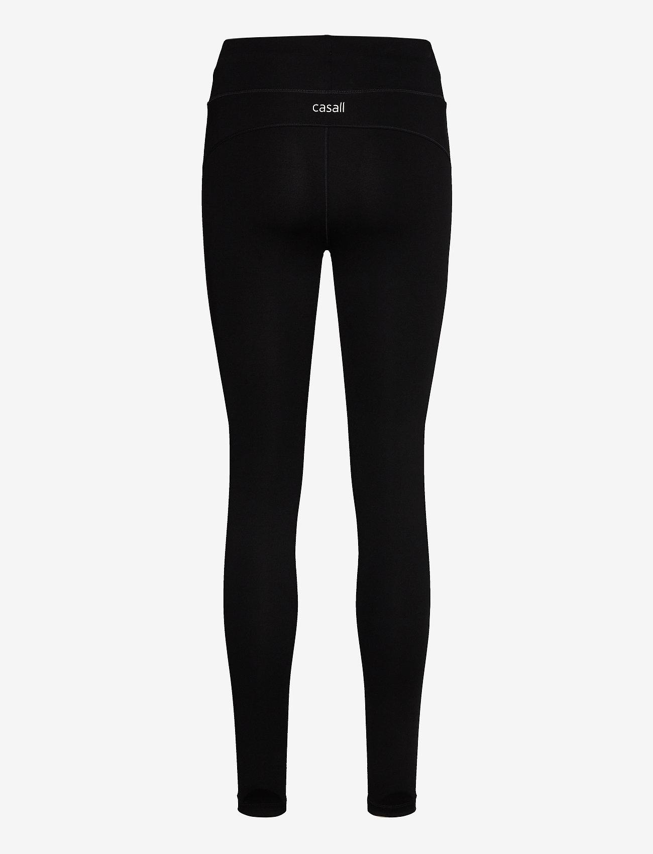 Casall - Essential 7/8 Tights - running & training tights - black - 1