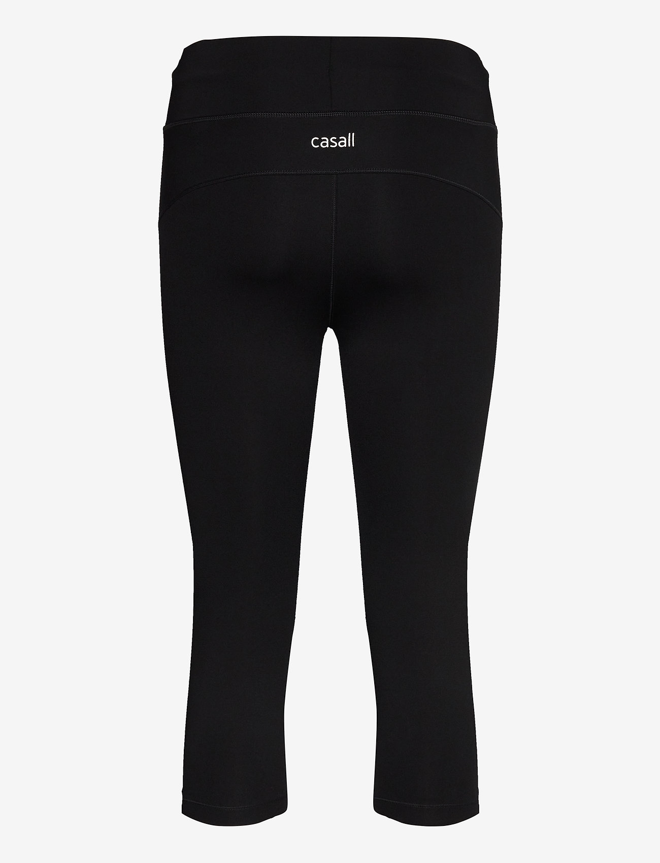 Casall - Essential 3/4 Tights - running & training tights - black - 1