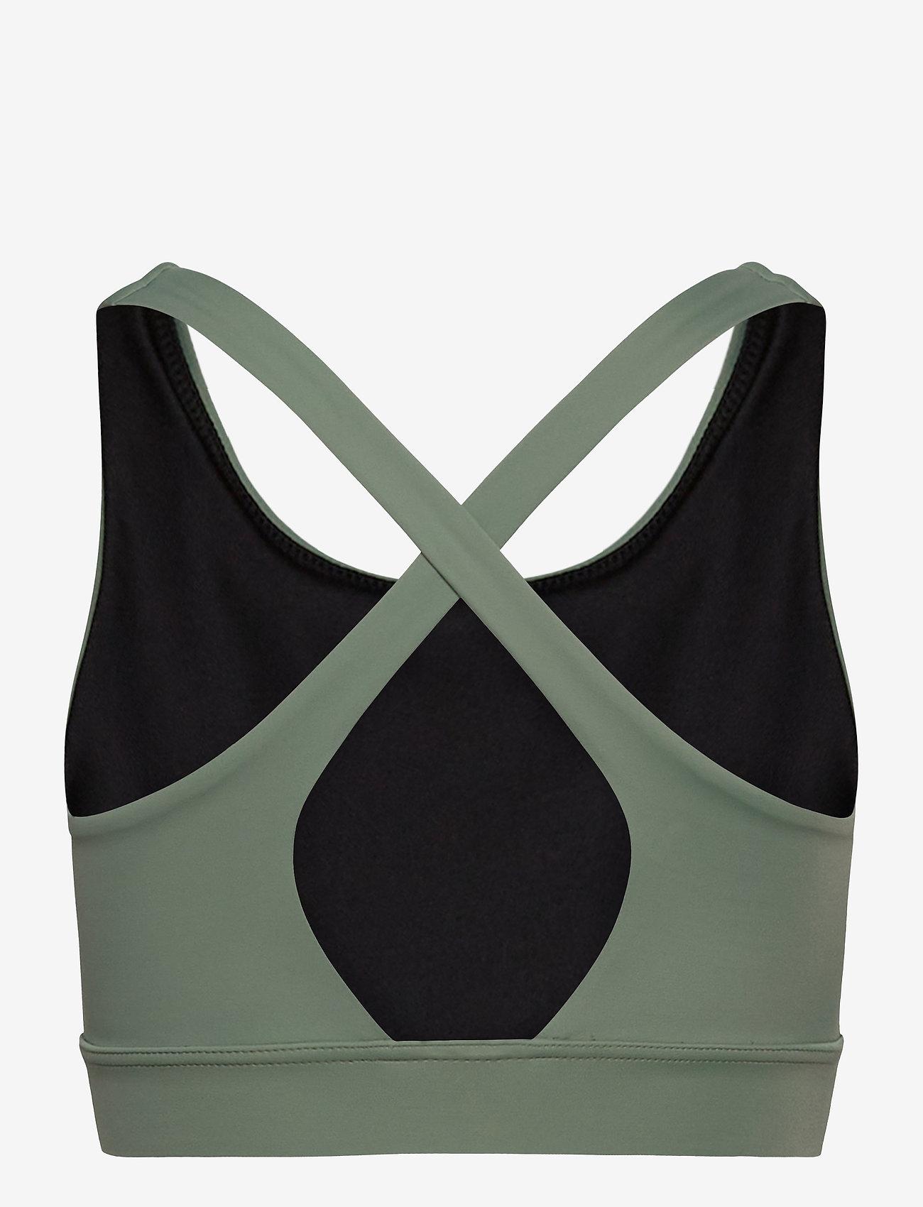 Casall - Crossback Sports Bra - biustonosze sportowe: średnie - botanic green - 1