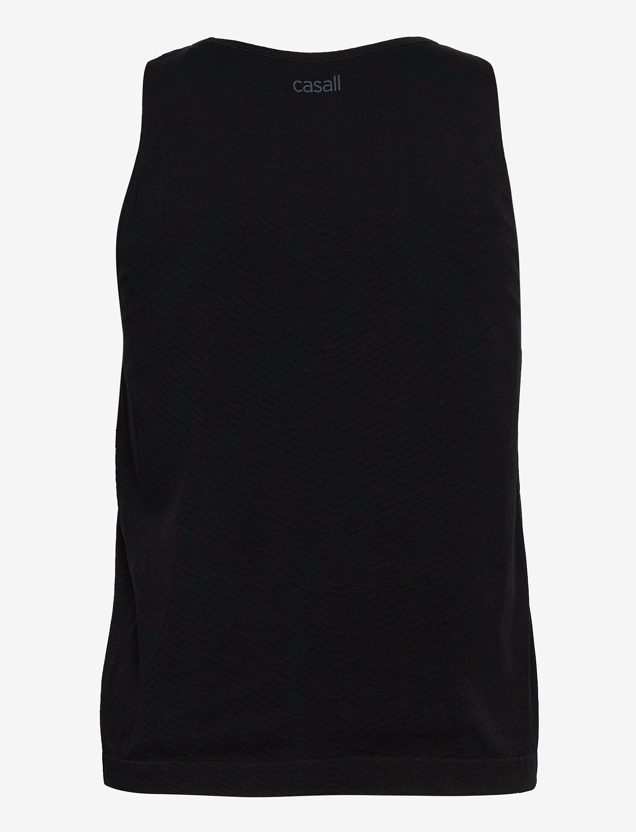 Casall - Seamless Blocked Tank - topjes - black - 1