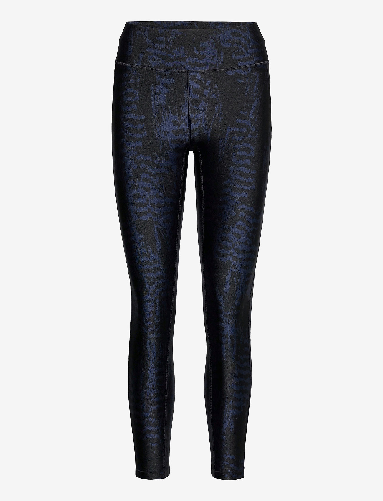 Casall - Iconic Printed 7/8 Tights - running & training tights - survive dk blue metallic - 0