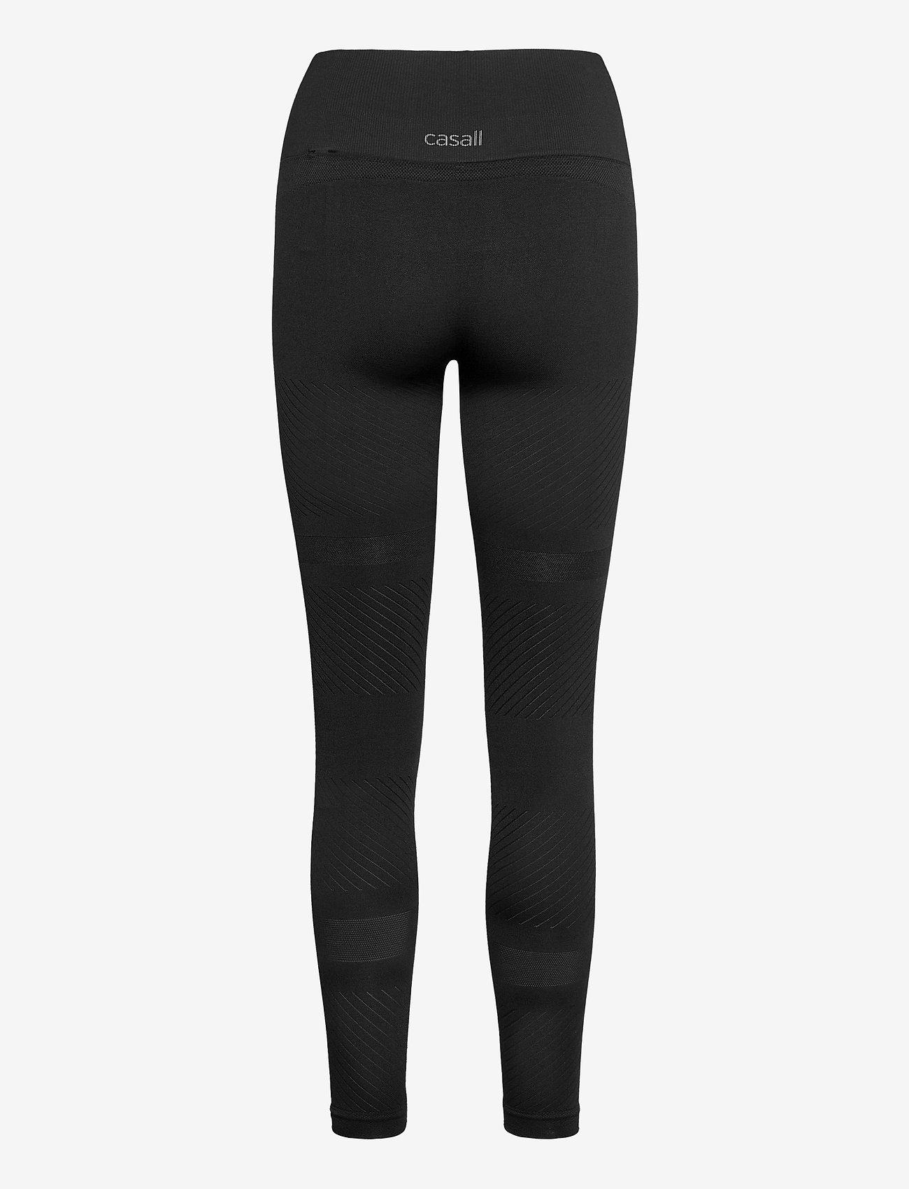 Casall - Seamless Blocked Tights - running & training tights - black - 1