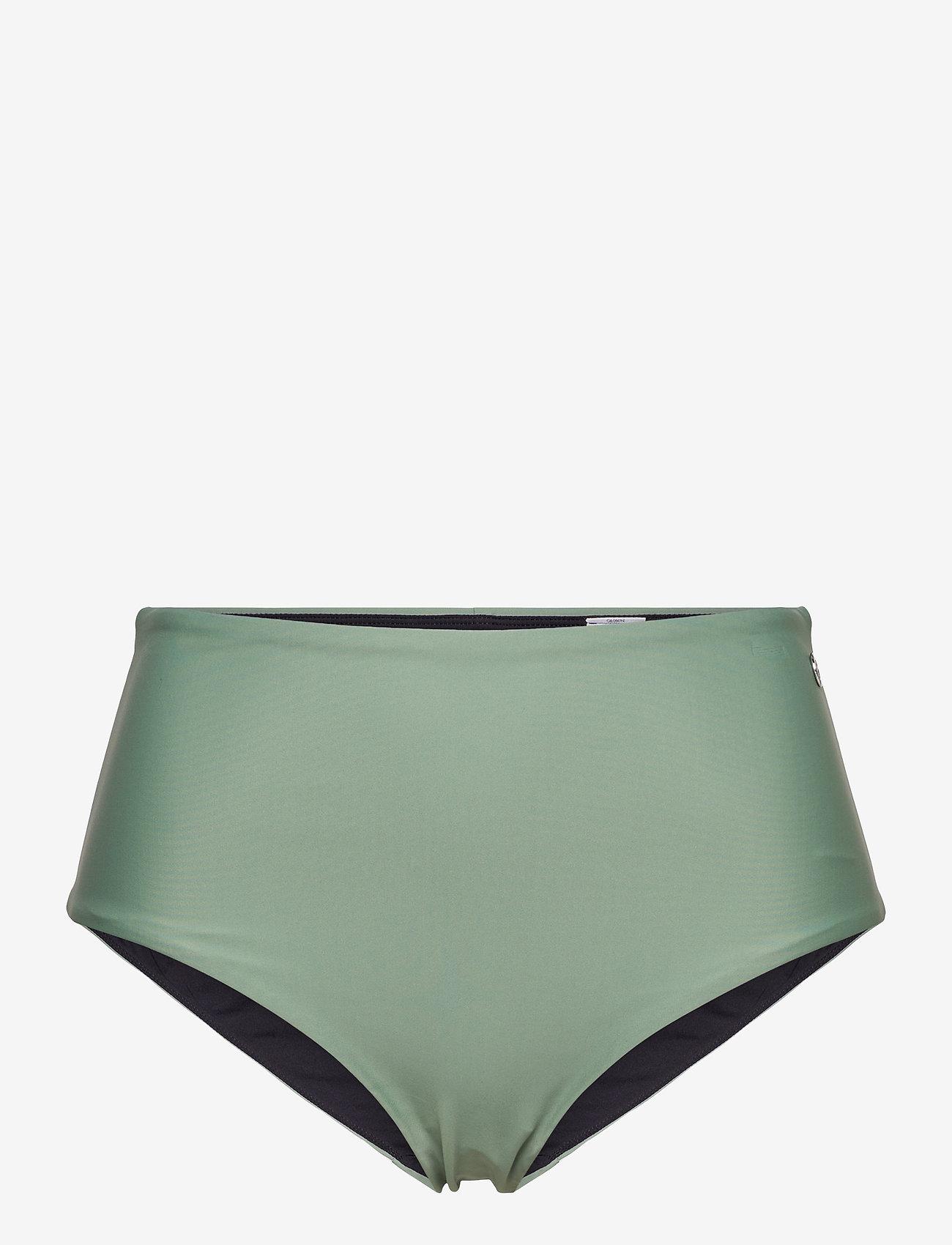 Casall - High Waist Bikini Hipster - bikini z wysoką talią - botanic green - 0