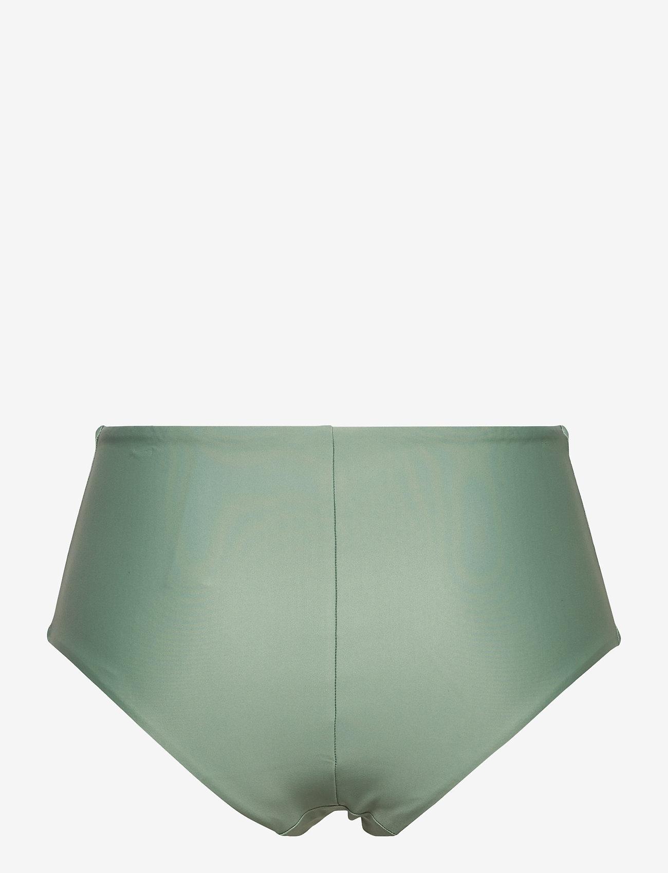 Casall - High Waist Bikini Hipster - bikini z wysoką talią - botanic green - 1