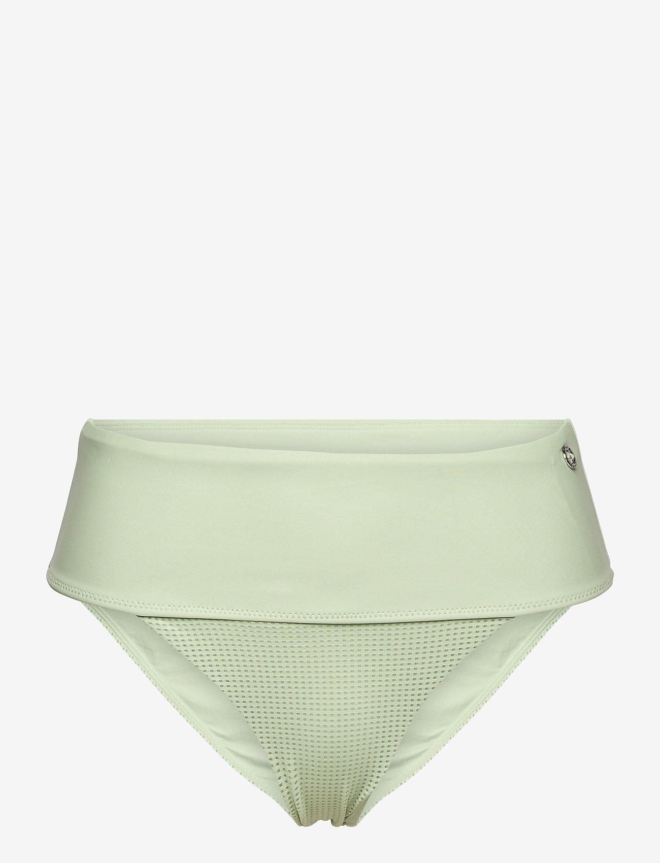 Casall - Iconic High Waist Bikini Bottoms - doły strojów kąpielowych - calming green - 0