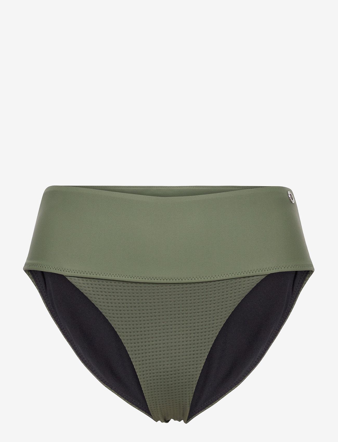 Casall - Iconic High Waist Bikini Bottoms - doły strojów kąpielowych - northern green - 0
