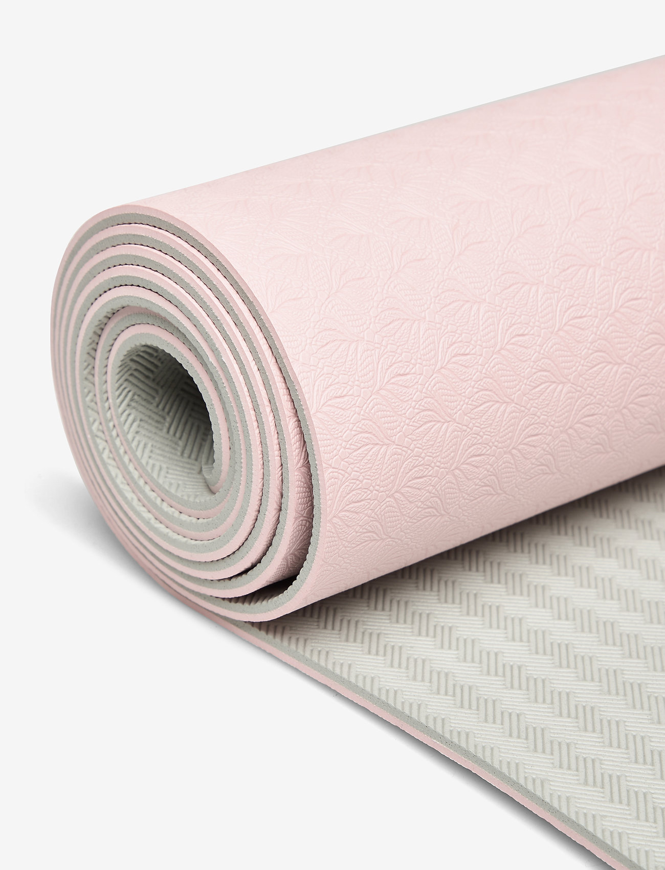 Casall - Yoga mat position 4mm - maty i sprzęt do jogi - lucky pink/grey - 1