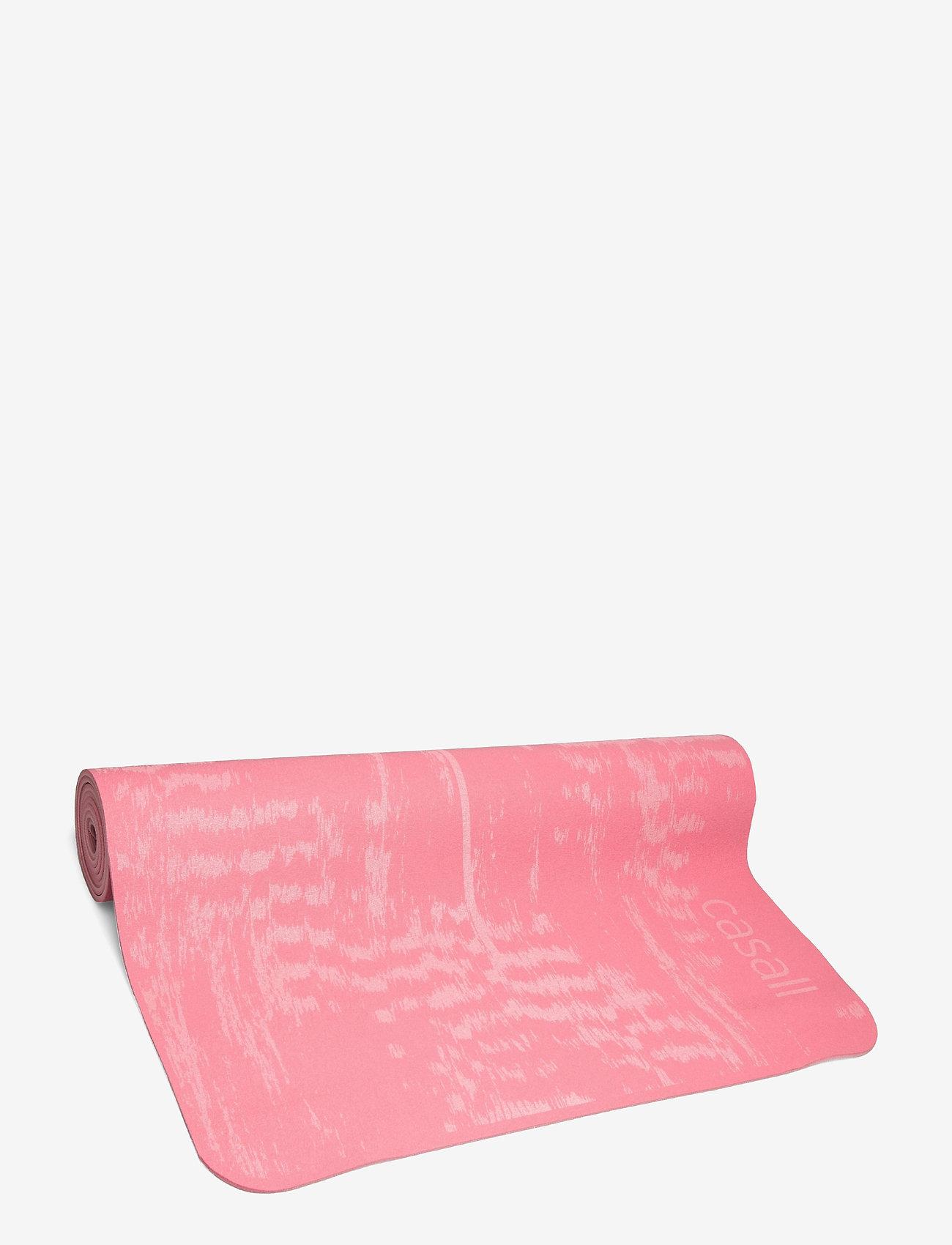 Casall - Exercise mat Cushion 5mm - maty do ćwiczeń - brilliant pink - 0