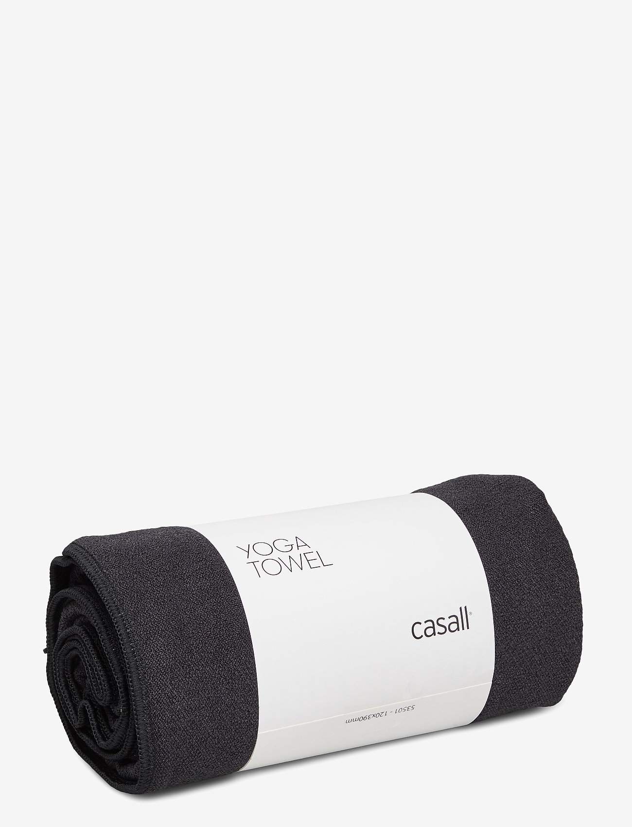 Casall - Yoga towel - maty i sprzęt do jogi - black - 0