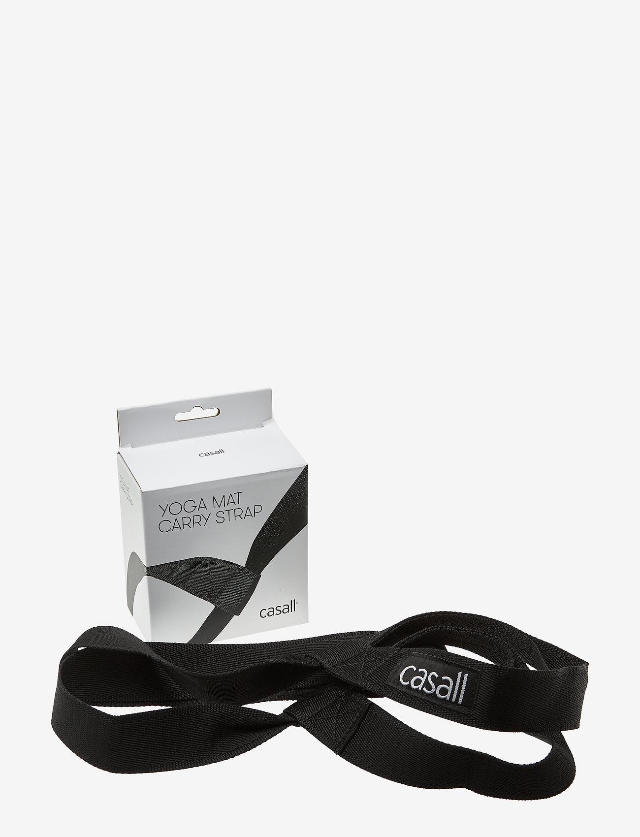 Casall - Mat carry strap - yogamatten & uitrusting - black - 0