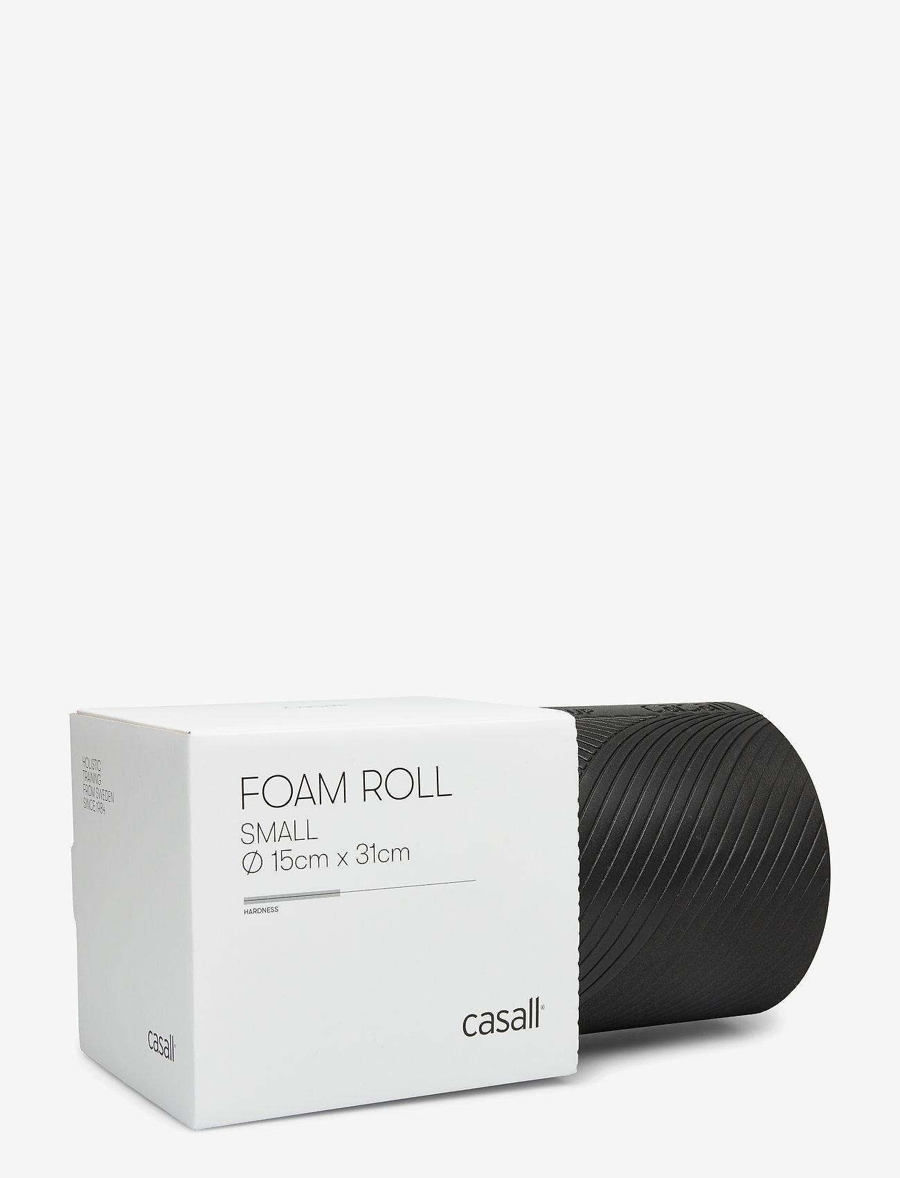 Casall - Foam roll small - sprzęt treningowy - black - 0