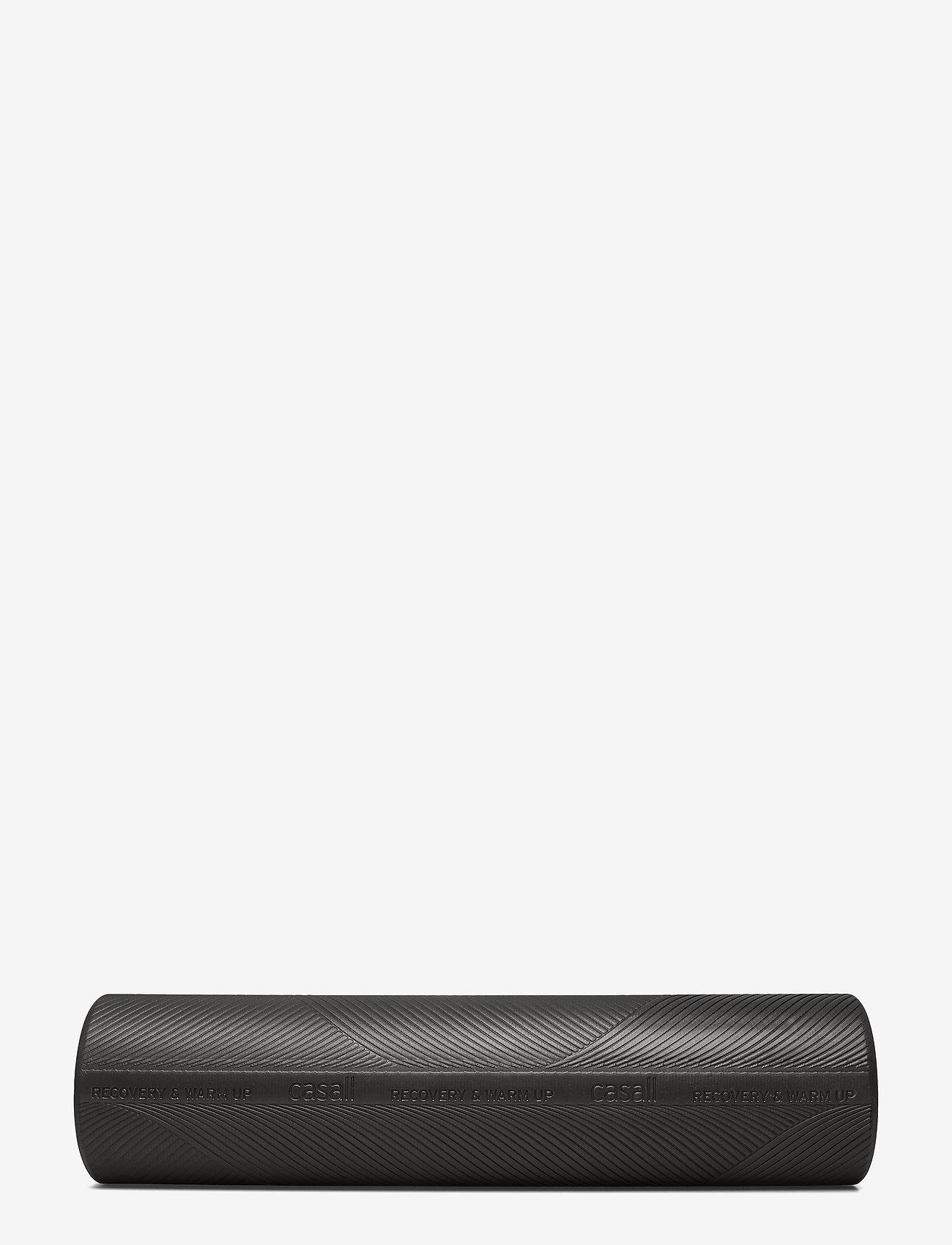 Casall - Foam roll medium - treenivarusteet - black - 0