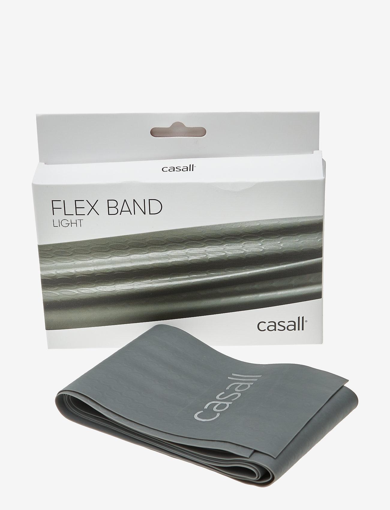 Casall - Flex band light 1pcs - vastuskuminauhat - light grey - 0