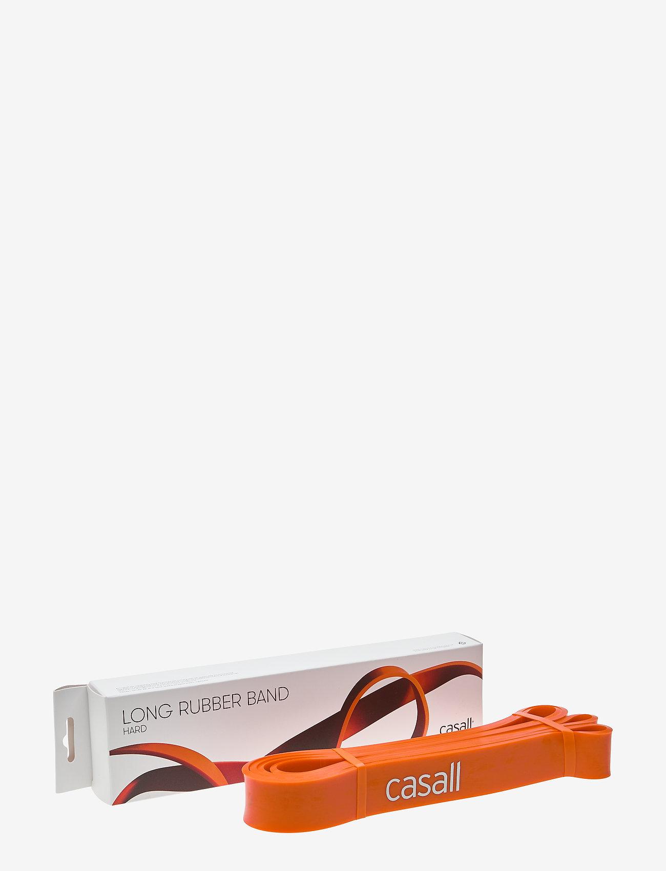 Casall - Long rubber band hard - vastuskuminauhat - orange - 0