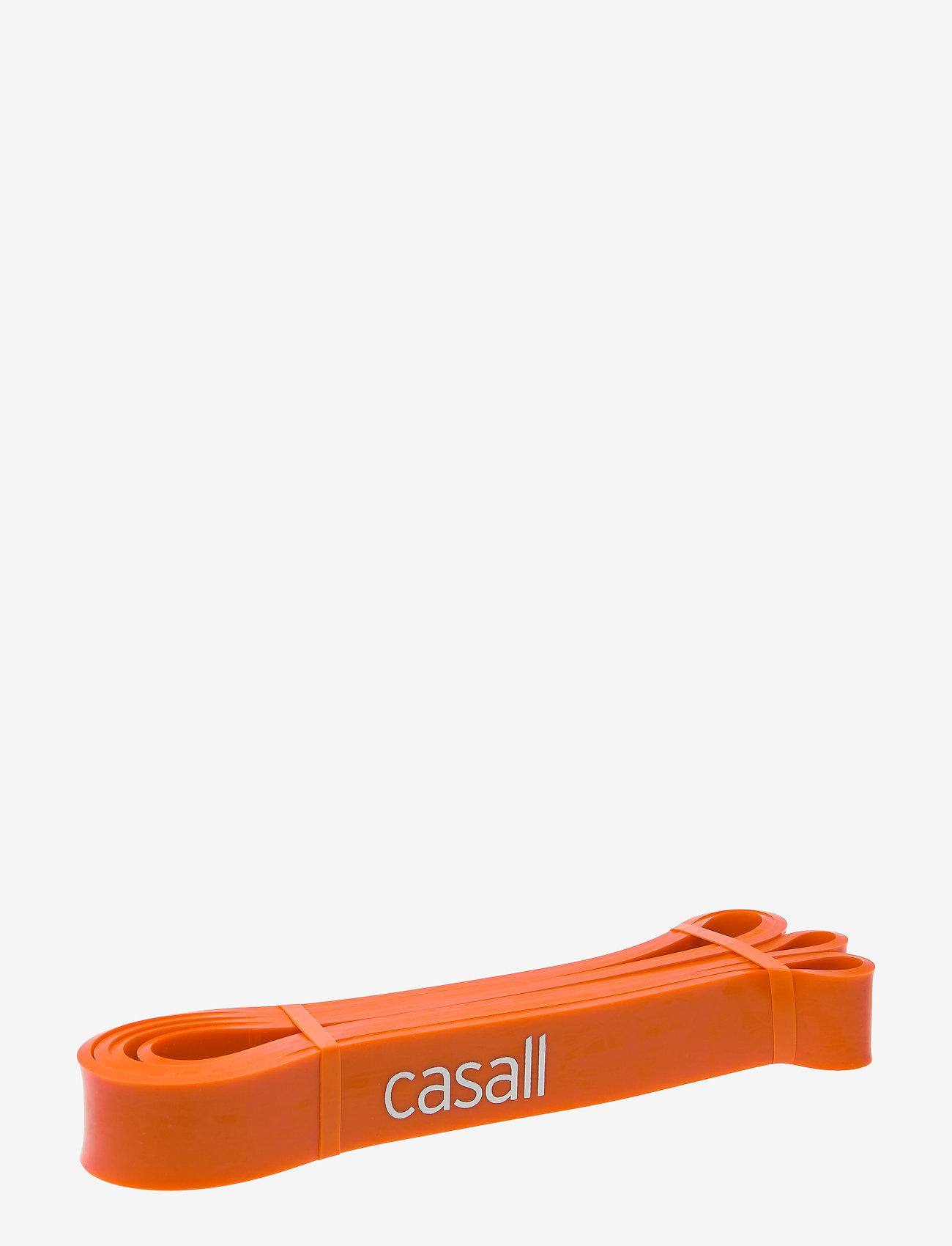 Casall - Long rubber band hard - vastuskuminauhat - orange - 1