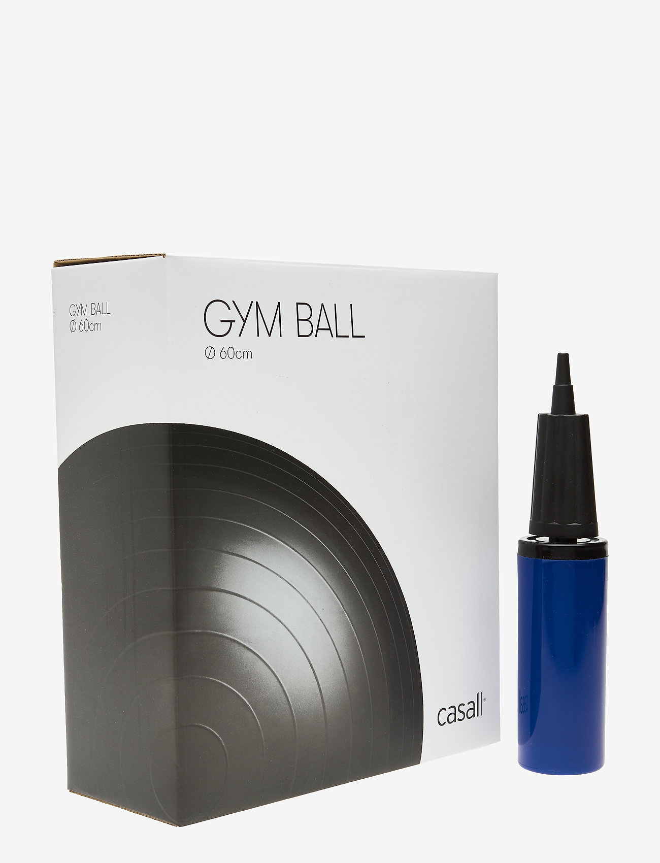 Casall - Gym ball 60cm - utstyr - black - 0