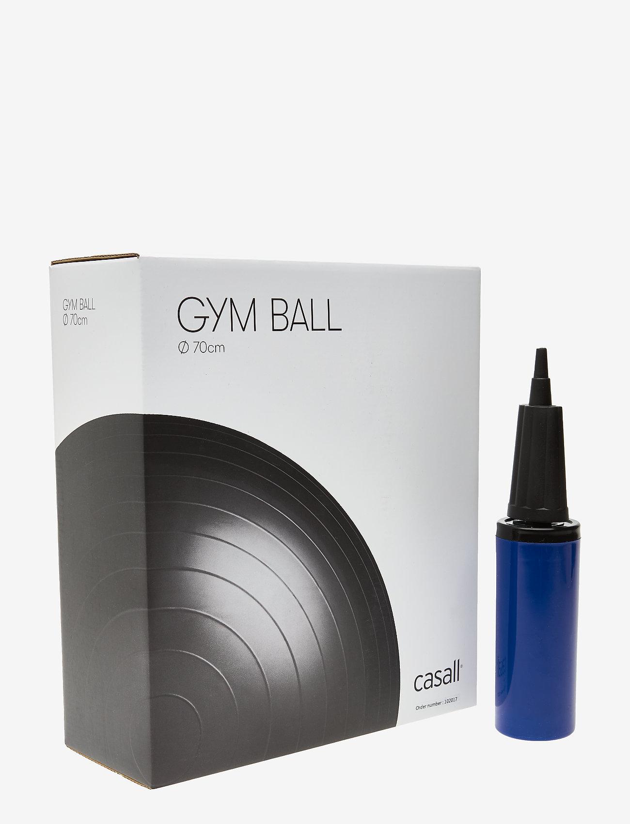 Casall - Gym ball 70cm - treningsutstyr - black - 0