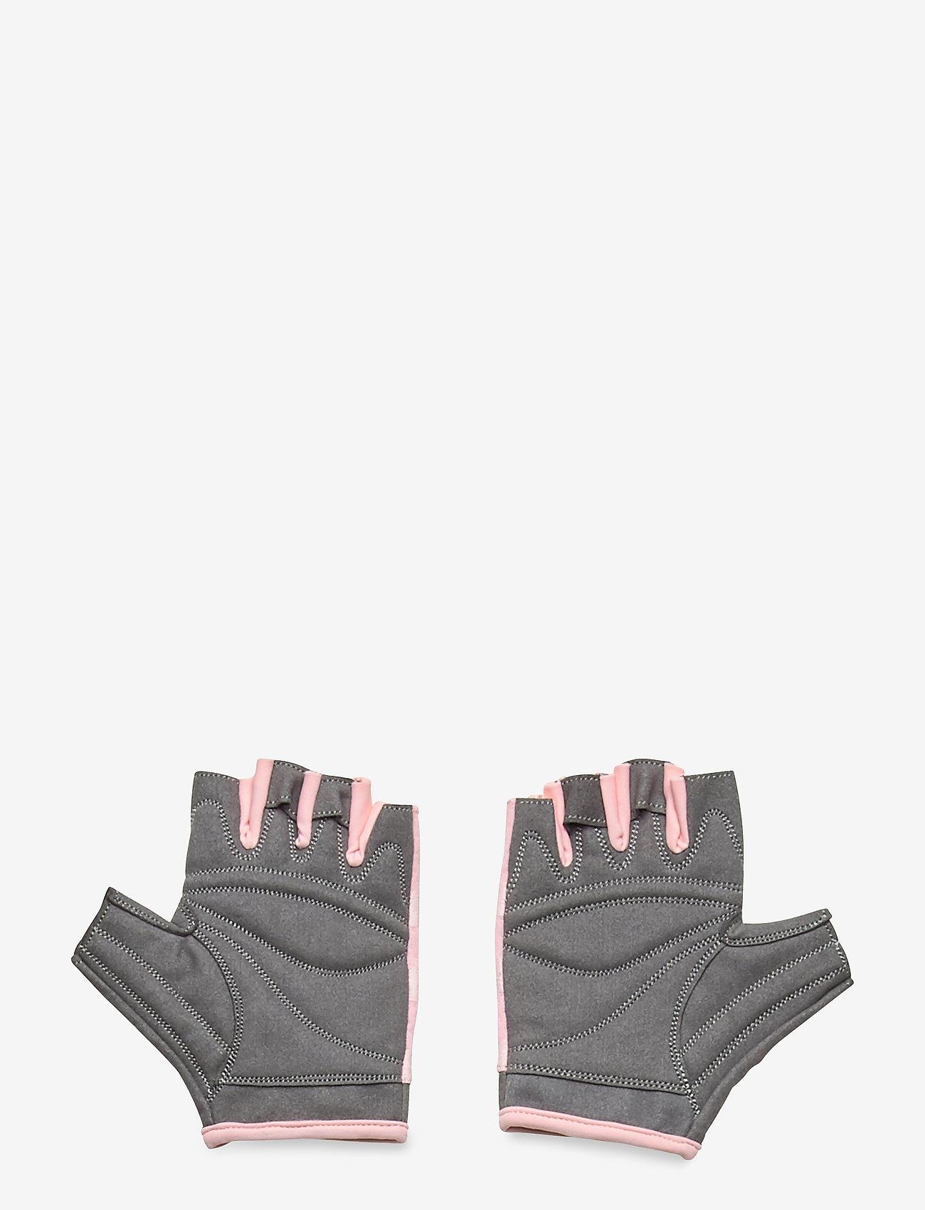 Casall - Exercise glove wmns - ekwipunek - lucky pink/grey - 1