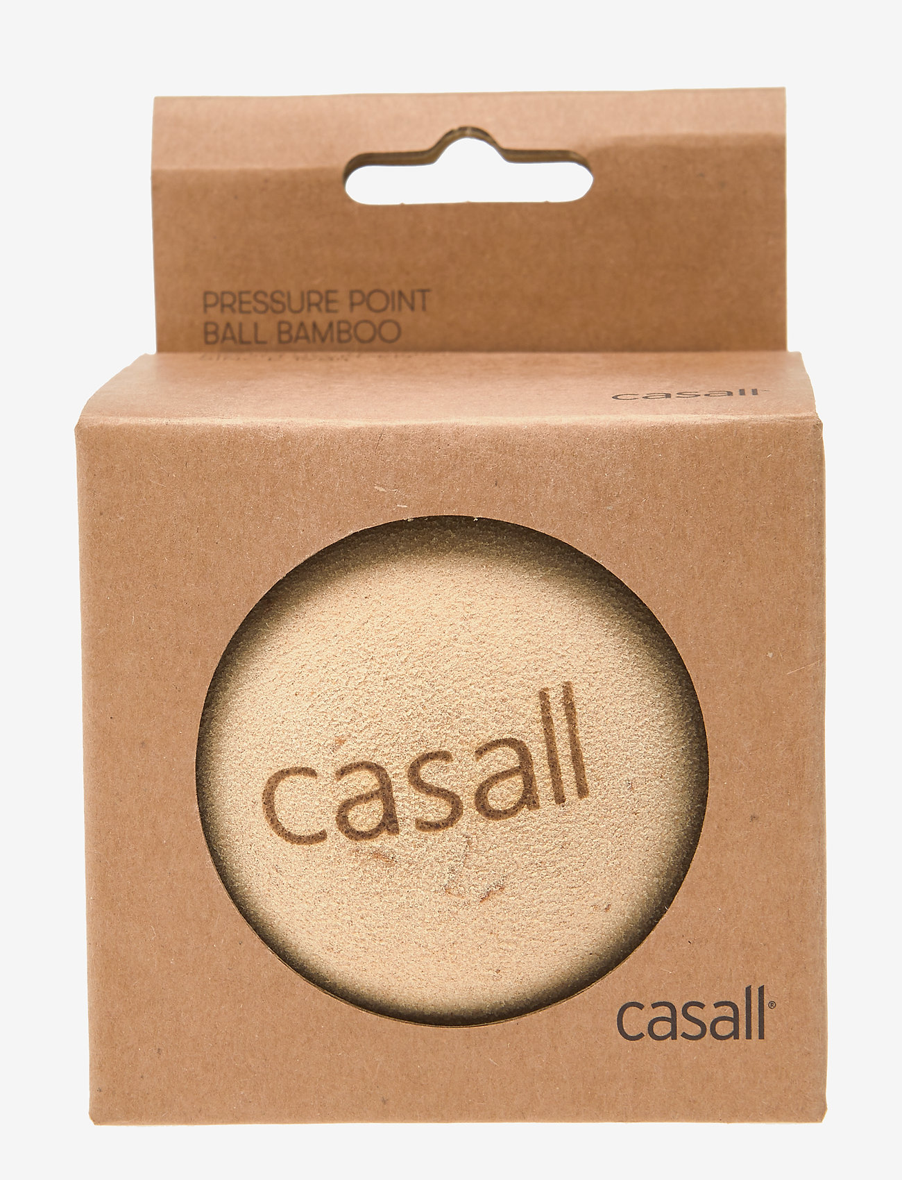 Casall - Pressure point ball bamboo - sprzęt treningowy - natural - 0