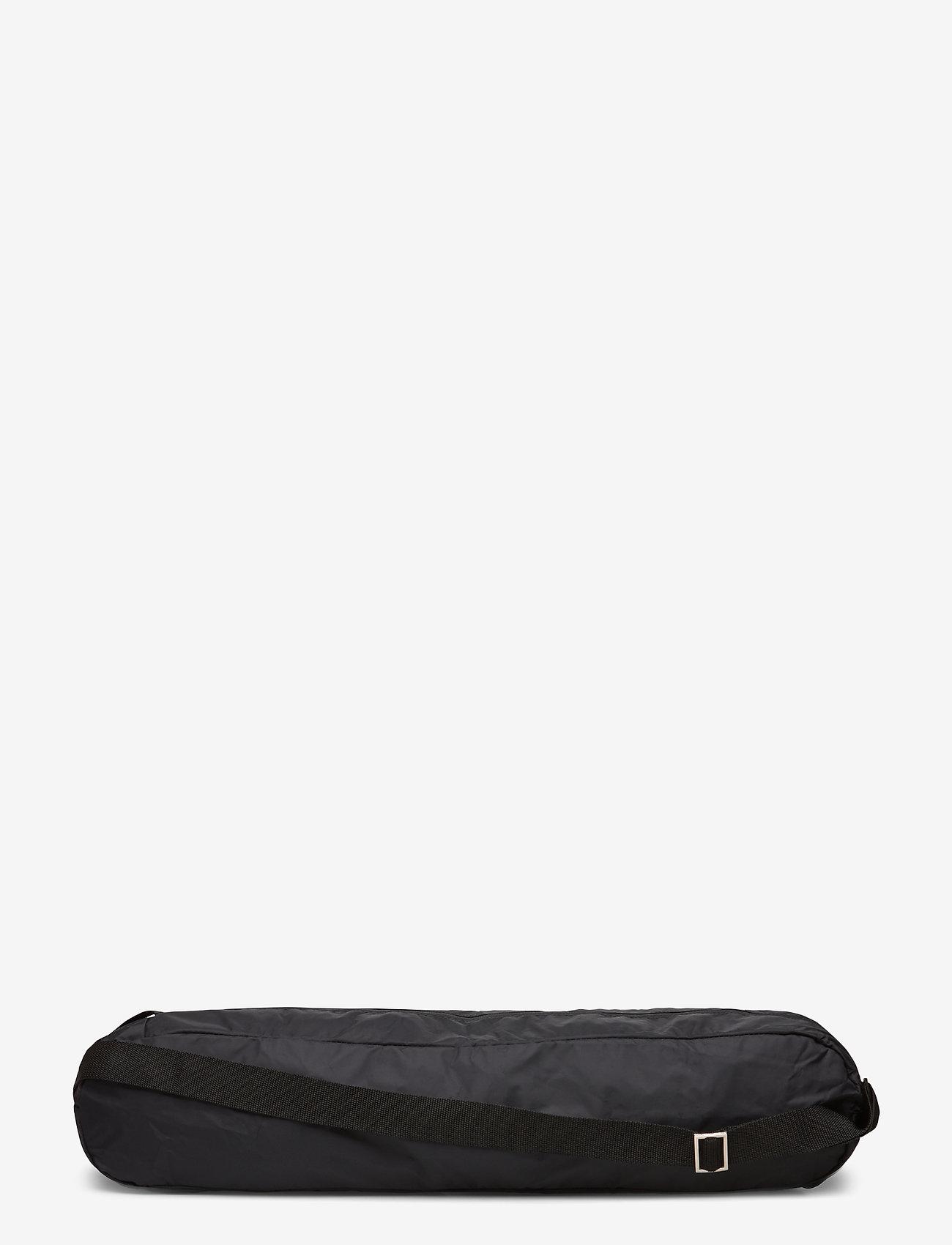 Casall - Yoga mat bag - treningsutstyr - black - 0