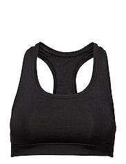 Iconic sports bra - BLACK