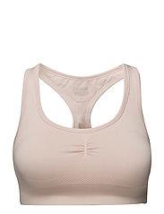 Smooth sports bra - BLUSH PINK
