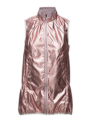 Metallic run vest - FOIL PINK