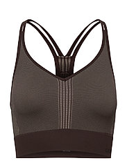 Seamless sports top - BERLIN BROWN