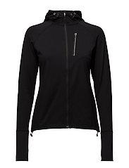 Mid Layer Fleece Jacket - BLACK