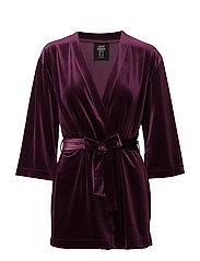 Velvet kimono - PULSE PURPLE