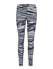 Wave 7/8 tights - BLUE WAVE