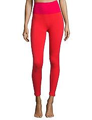 Casall - Seamless tights - running & training tights - vivid pink - 0
