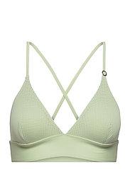 Iconic Bikini Top - CALMING GREEN