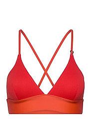 Iconic Bikini Top - IMPACT RED