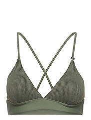 Iconic Bikini Top - NORTHERN GREEN
