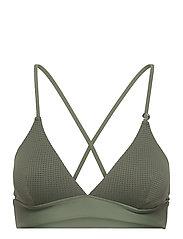 Iconic Bikini Top - NORTHERN GREEN