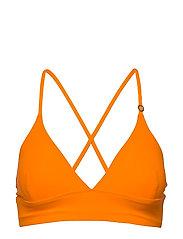 Iconic Bikini Top - STRIKING ORANGE