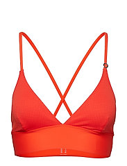 Iconic Bikini Top - SUNSET RED