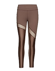 Lux 7/8 Tights - GROUNDED BROWN