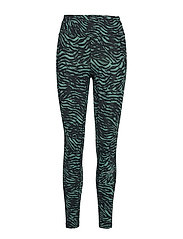Tiger 7/8 Tights - TIGER GREEN