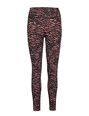 Tiger 7/8 Tights - TIGER RED
