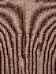 Casall - Wool Rib Tights - running & training tights - black beige rib - 2