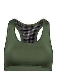 Iconic Sports Bra - NORTHERN GREEN