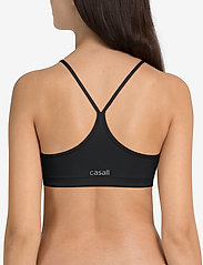 Casall - Strappy Sports Bra - sport-bh: hög - black - 3