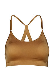 Strappy Sports Bra - GOLDEN METALLIC