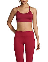 Casall - Strappy Sports Bra - sport-bh: hög - moving red - 0