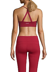 Casall - Strappy Sports Bra - sport-bh: hög - moving red - 3