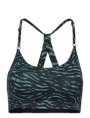 Strappy Sports Bra - TIGER GREEN